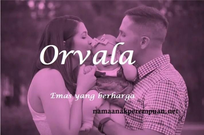 arti nama Orvala