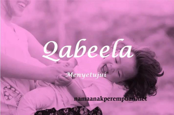 arti nama Qabeela