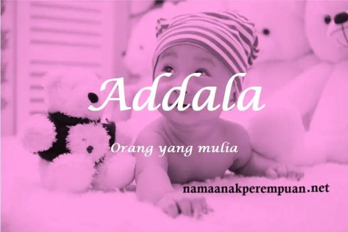 arti nama Addala
