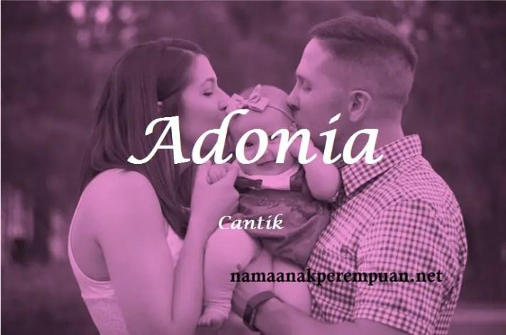 arti nama Adonia