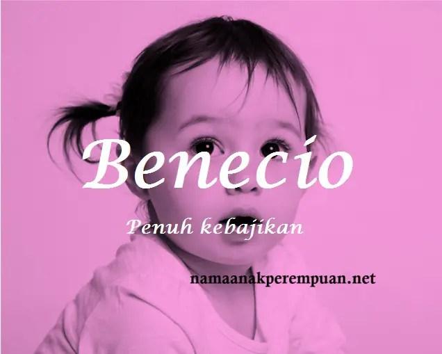 arti nama Benecio