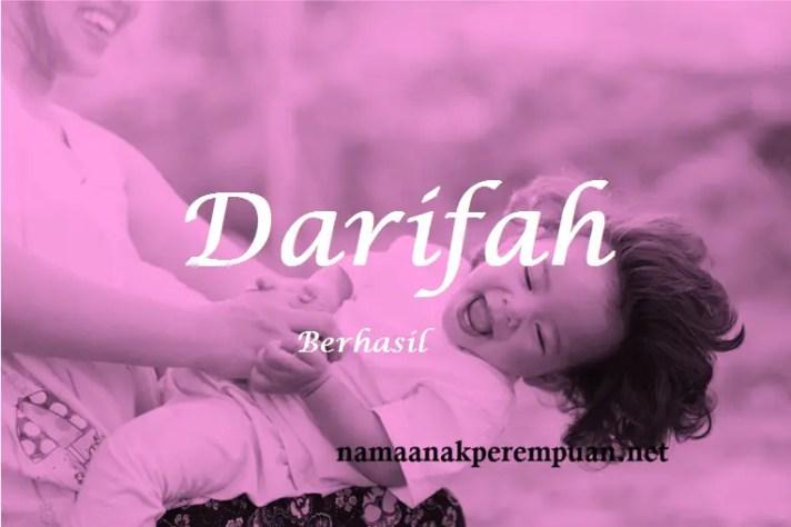 arti nama Darifah
