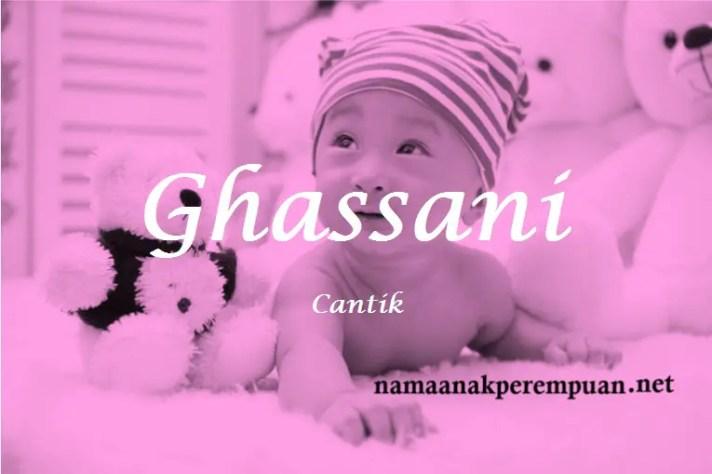 arti nama Ghassani