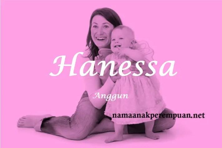 arti nama Hanessa