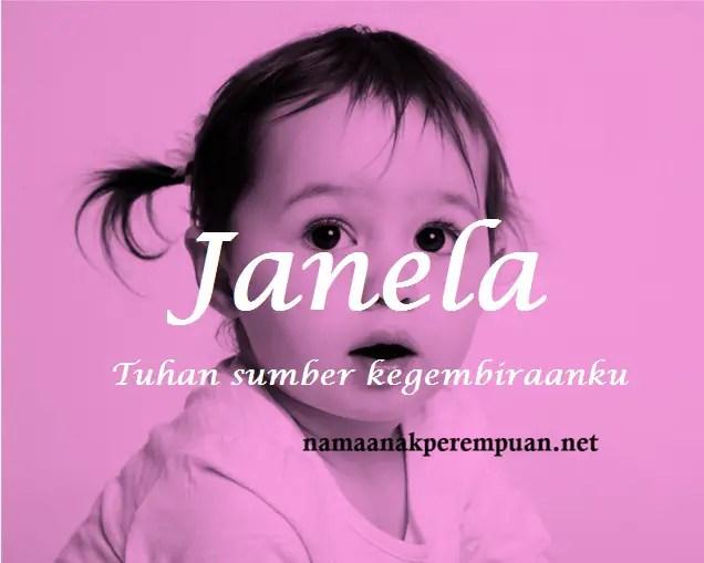 arti nama Janela
