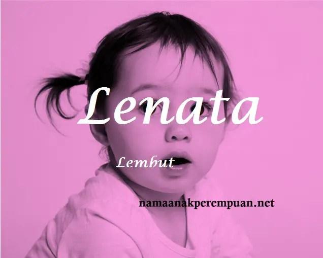 arti nama Lenata