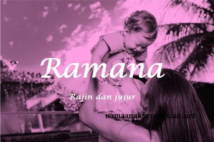 arti nama Ramana