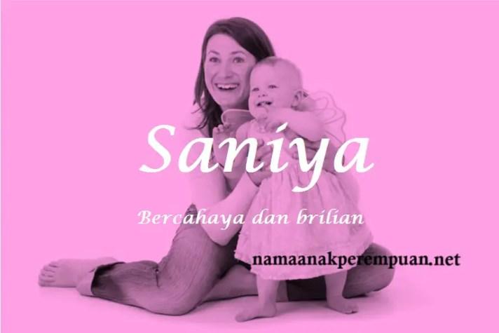 arti nama Saniya