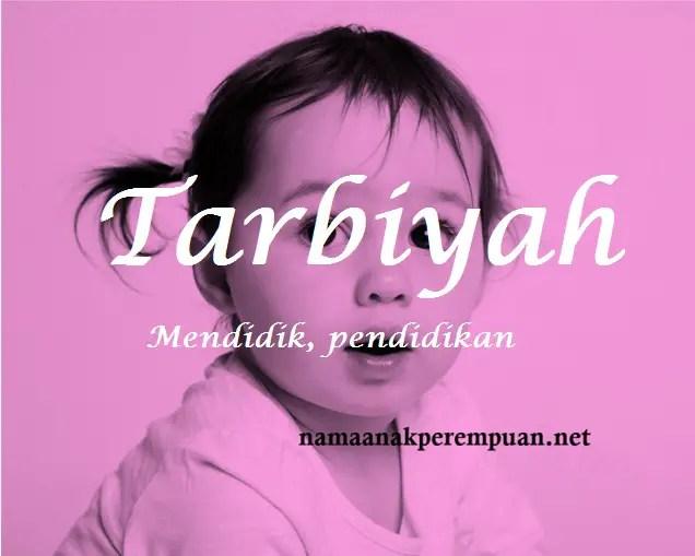 arti nama Tarbiyah