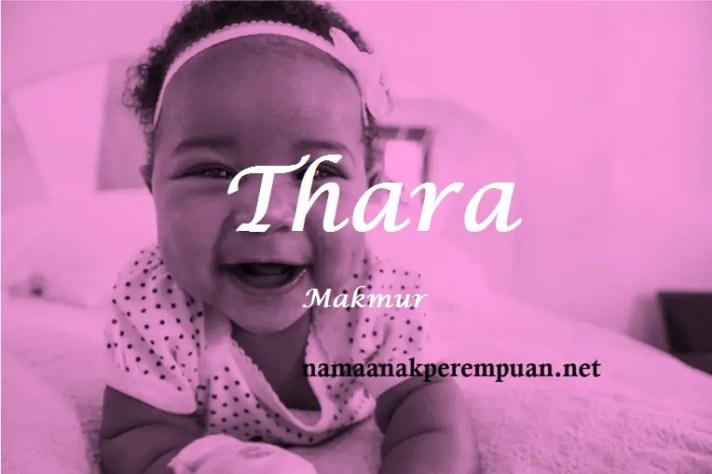 arti nama Thara