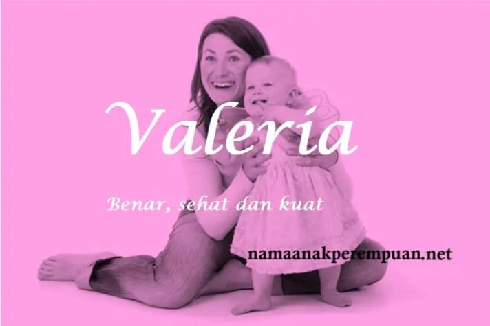 arti nama Valeria