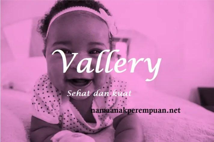 arti nama Vallery