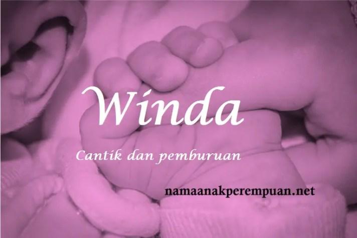 arti nama Winda