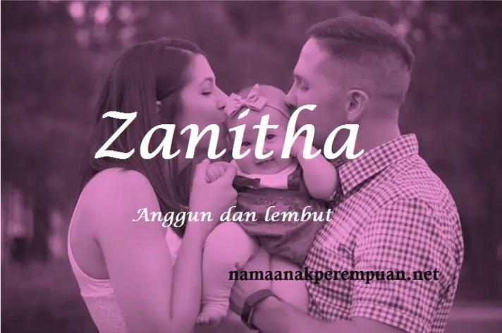 arti nama Zanitha