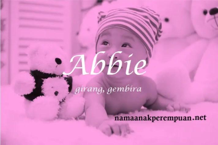 arti nama Abbie