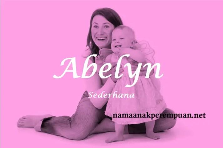 arti nama Abelyn