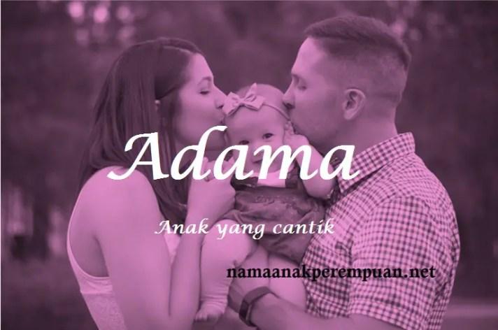 arti nama Adama