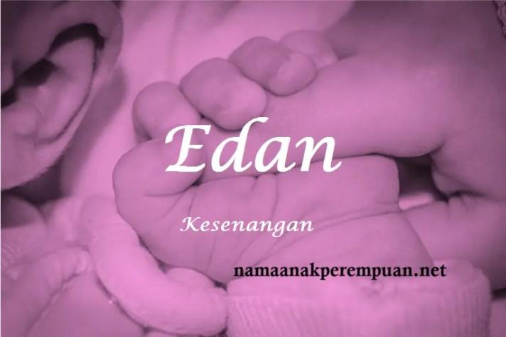 arti nama Edan