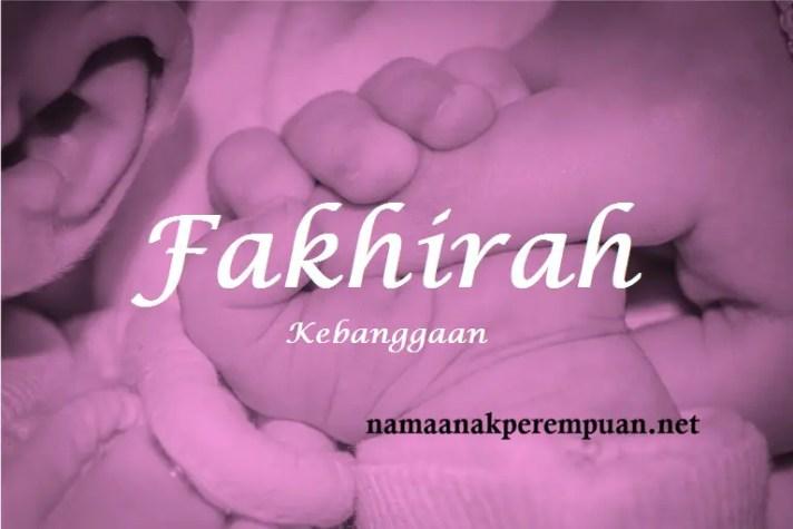 arti nama Fakhirah