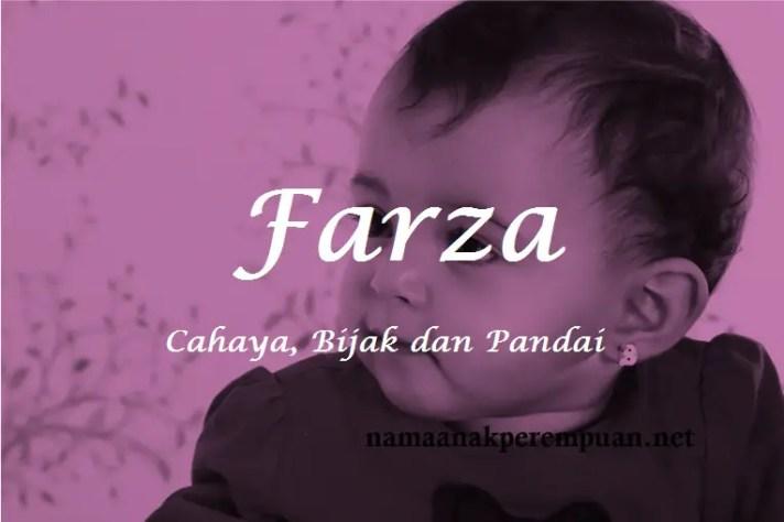 arti nama Farza
