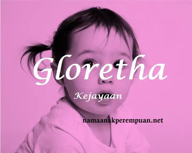 arti nama Gloretha