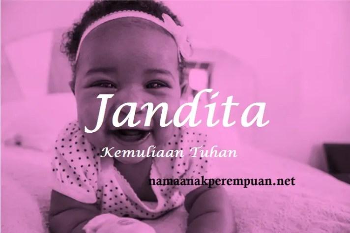 arti nama Jandita