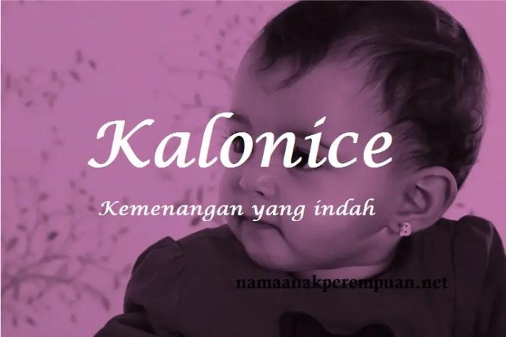 arti nama Kalonice