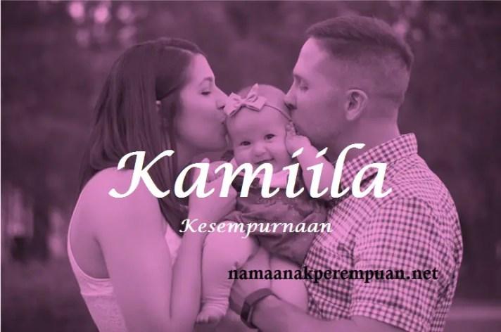 arti nama Kamiila