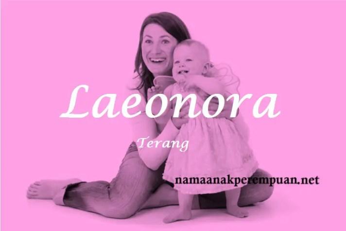 arti nama Laeonora