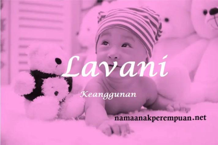 arti nama Lavani