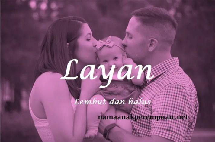 arti nama Layan