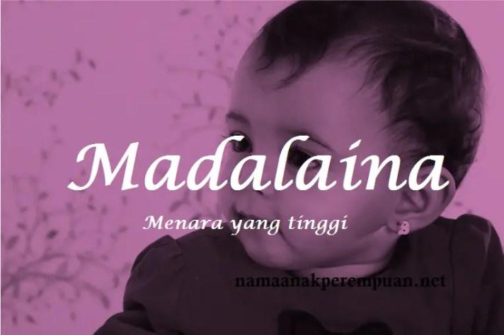 arti nama Madalaina