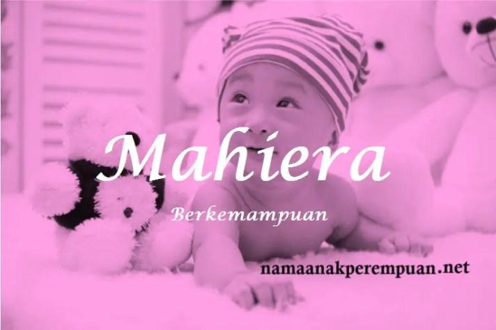 arti nama Mahiera