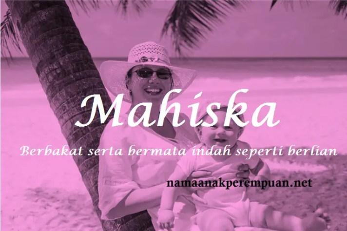 arti nama Mahiska