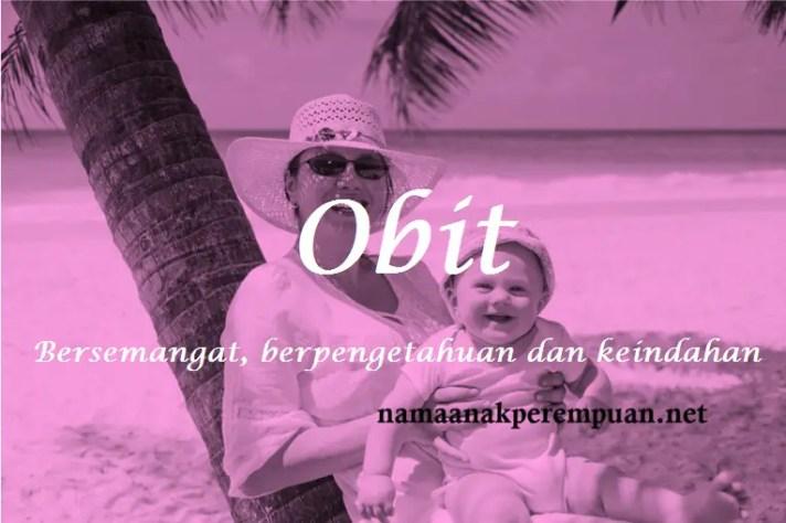 arti nama Obit