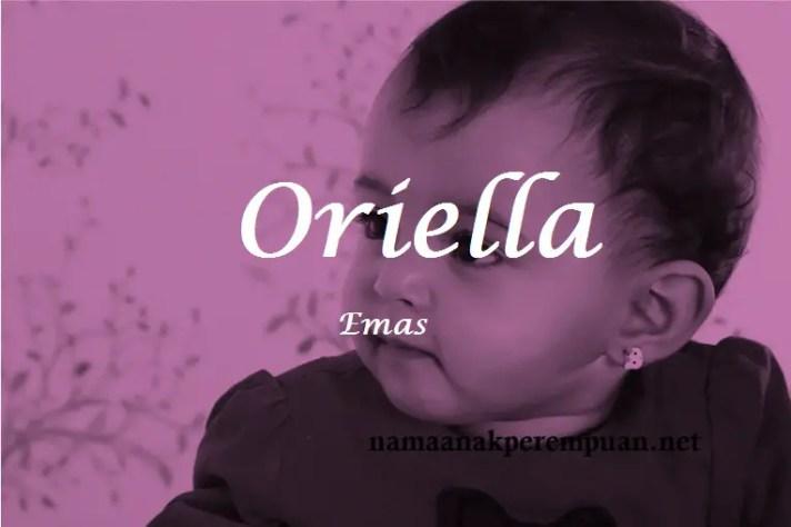 arti nama Oriella