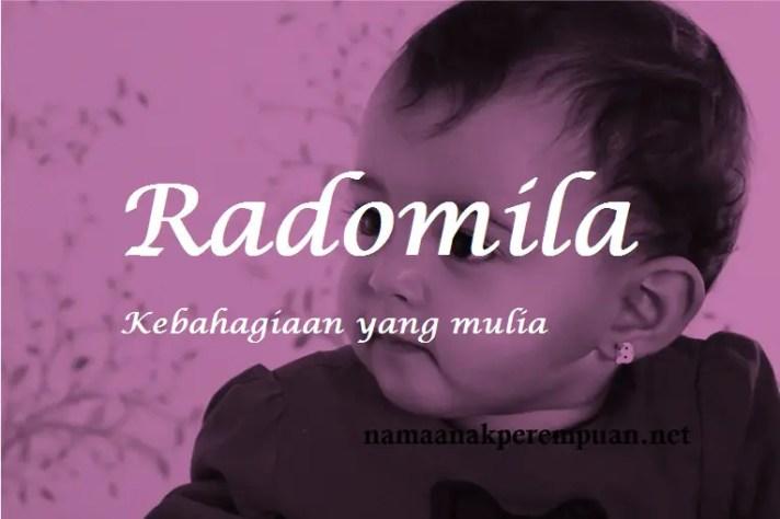 arti nama Radomila