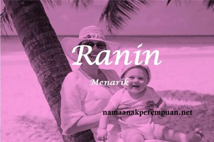 arti nama Ranin