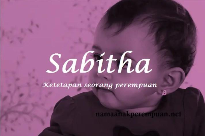arti nama Sabitha