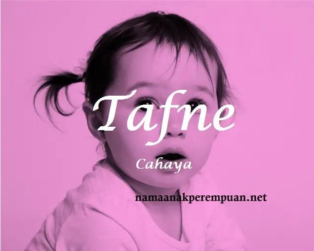 arti nama Tafne
