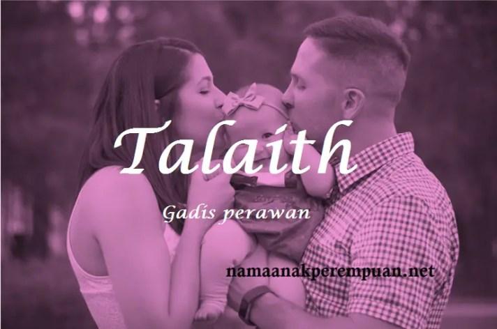 arti nama Talaith