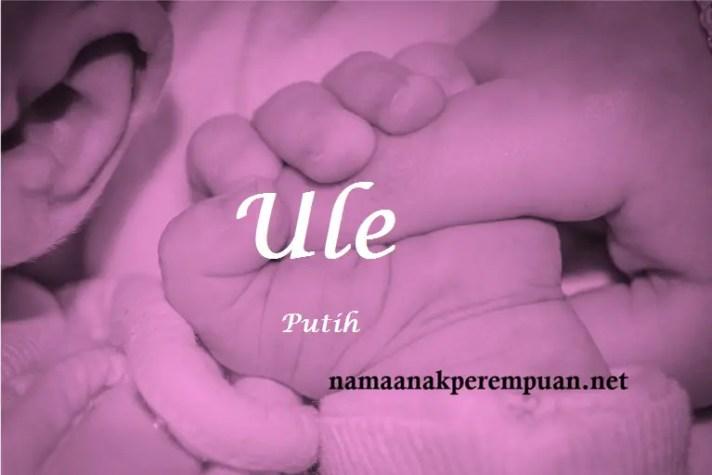 arti nama Ule