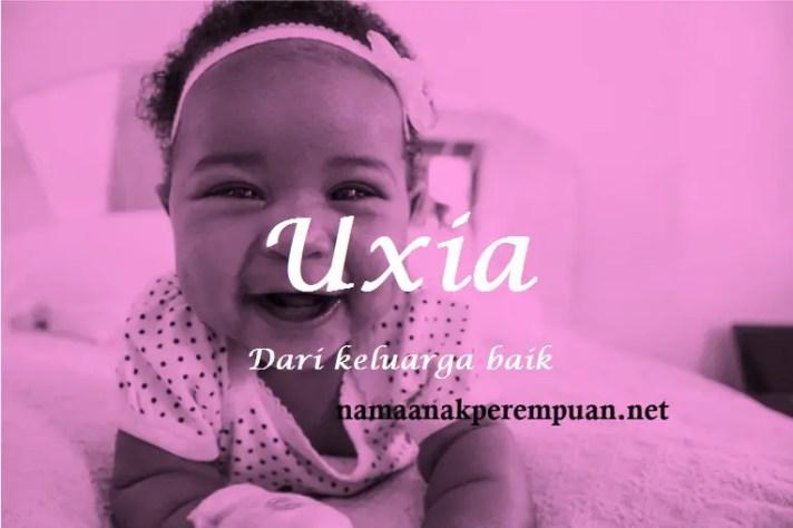 arti nama Uxia