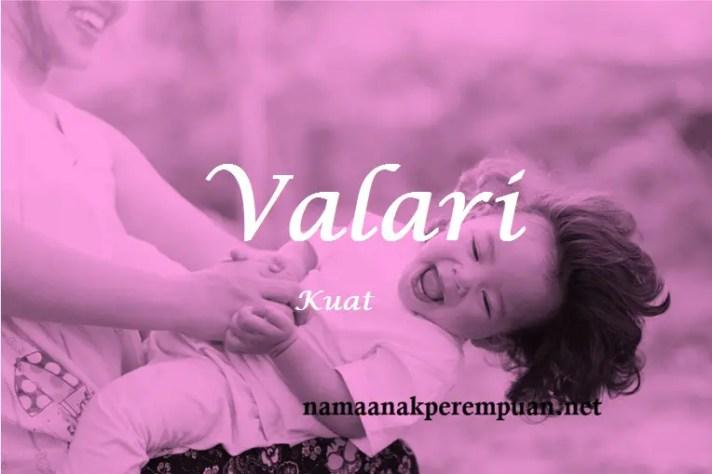 arti nama Valari