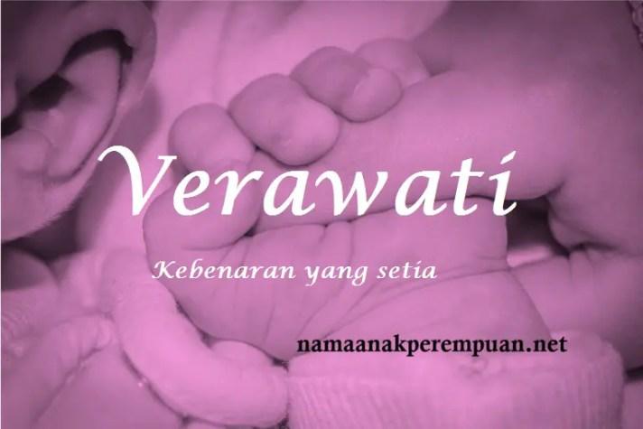 arti nama Verawati