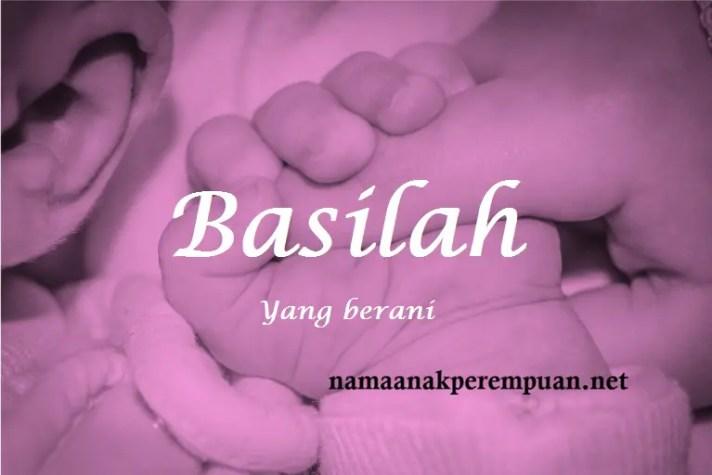 arti nama Basilah