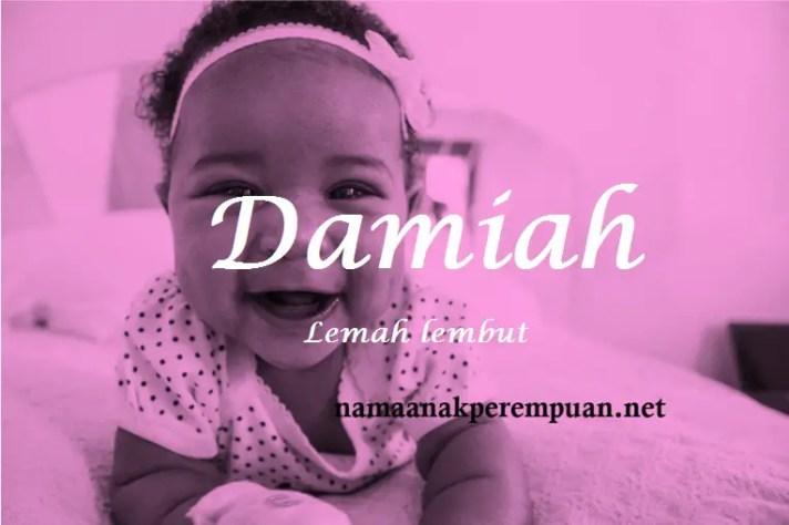 arti nama Damiah