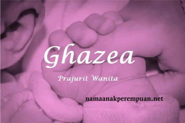 arti nama Ghazea
