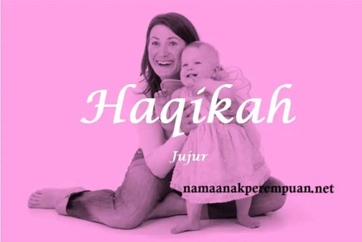 arti nama Haqikah