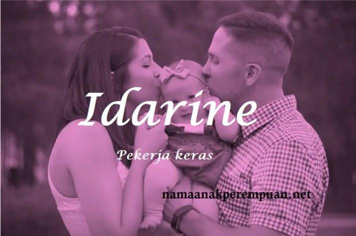 arti nama Idarine
